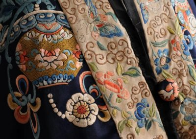 Detail of religious robes